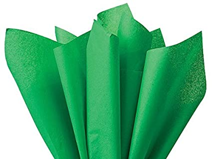 Amazon Kelly Green Holiday Green Tissue Paper 15 Inch X 20 Inch