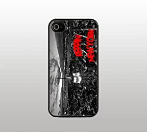 Reppin' New York Snap-On Case for Apple iPhone 5 - Hard Plastic - Black - Cool Custom Cover - Representing New York