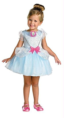 [Cinderella Ballerina Classic Costume - Toddler Large] (Ballerina Costumes For Toddler)