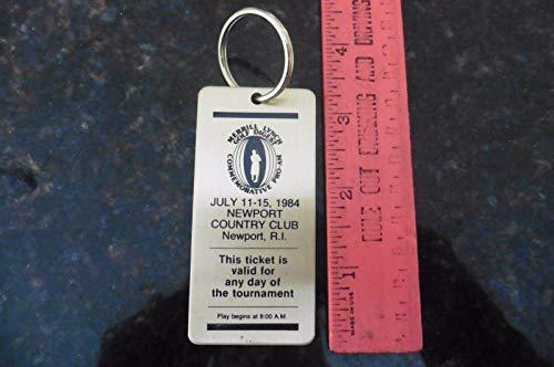 - Vintage Merrill Lynch Golf Digest PGA Pro-Am bag tag 1984 MIKE FETCHICK ESTATE