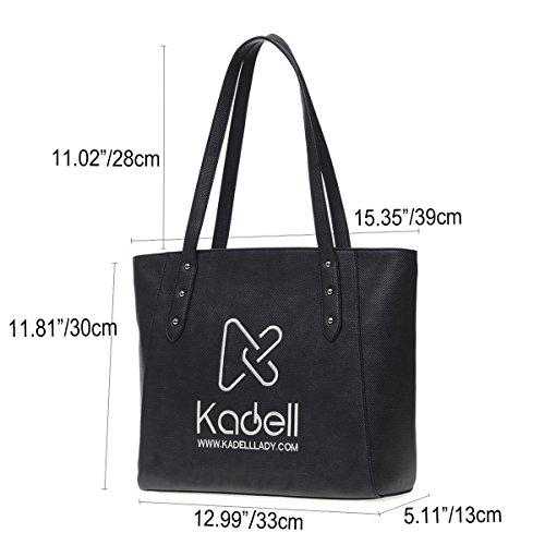 Noir Sac provisions sac de marque sac bandoulière Kadell pour main à à tout sac femmes Marron fourre luxe à les H4xw4ZdCqB