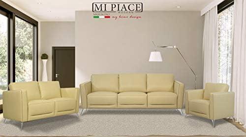 Amazon.com: ACME Furniture 55006 Malaga Loveseat Cream ...