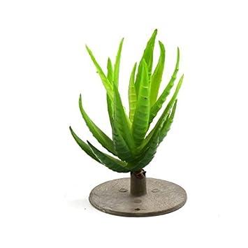 DealMux plástico verde del acuario terrario de la planta de decoración para Anfibios Reptiles Animales: Amazon.es: Productos para mascotas