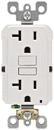 Leviton GFNT2 W Smartlockpro Non Tamper Resistant Receptacle