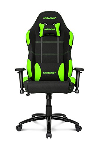 41vv27fSBRL - AKRacing-K-7-Series-Premium-Gaming-Chair-with-High-Backrest-Recliner-Swivel-Tilt-Rocker-and-Seat-Height-Adjustment-Mechanisms-with-510-warranty-Green
