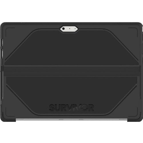 Griffin Survivor Journey Surface Pro 3 Case - Ultra-Protective Case with Access to Pro's Kickstand, Black/Deep Grey