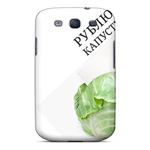 Hot Snap-on 3d Cut Cabbage Hard Covers Cases/ Protective Cases For Galaxy S3