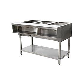 Advance Tabco WB-3G-NAT Natural Gas Water Bath Hot Food Table