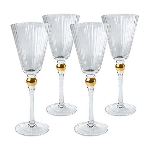Artland Set of 4 Jewel Wine Glasses by ARTLAND