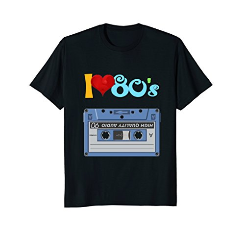Costume Ideas Party Theme 1980s (I Love The 80s Eighties T-shirt - Funny Vintage 80s)