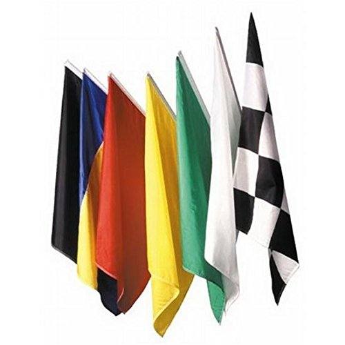 Race Track Flag Set, 24 x 30 Inch, Set of 7