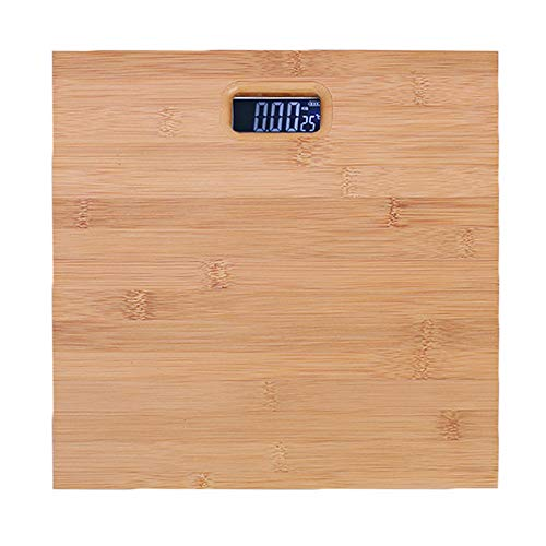 GorNorriss Electronics Gadgets Digital Body Fat Scale Scales Gym Weight Solid Wood LCD Electronic
