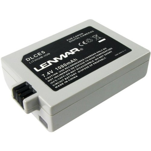 LENMAR DLCE5 Canon(R) LP-E5 Digital Camera Replacement (Lenmar Canon Replacement Battery)