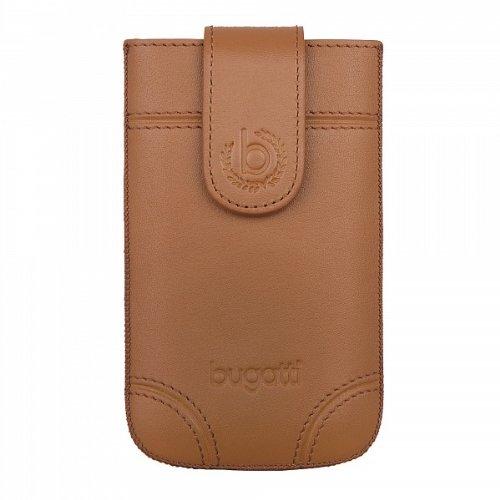 SlimCase Dublin Leder Tasche Case braun von bugatti passend für Apple iPhone 3G/3G S