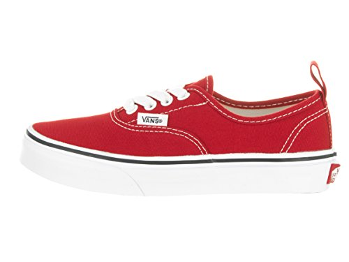 Vans Elastic Kids Shoe Elastic Lace Skate Authentic Red ppTqrnPH