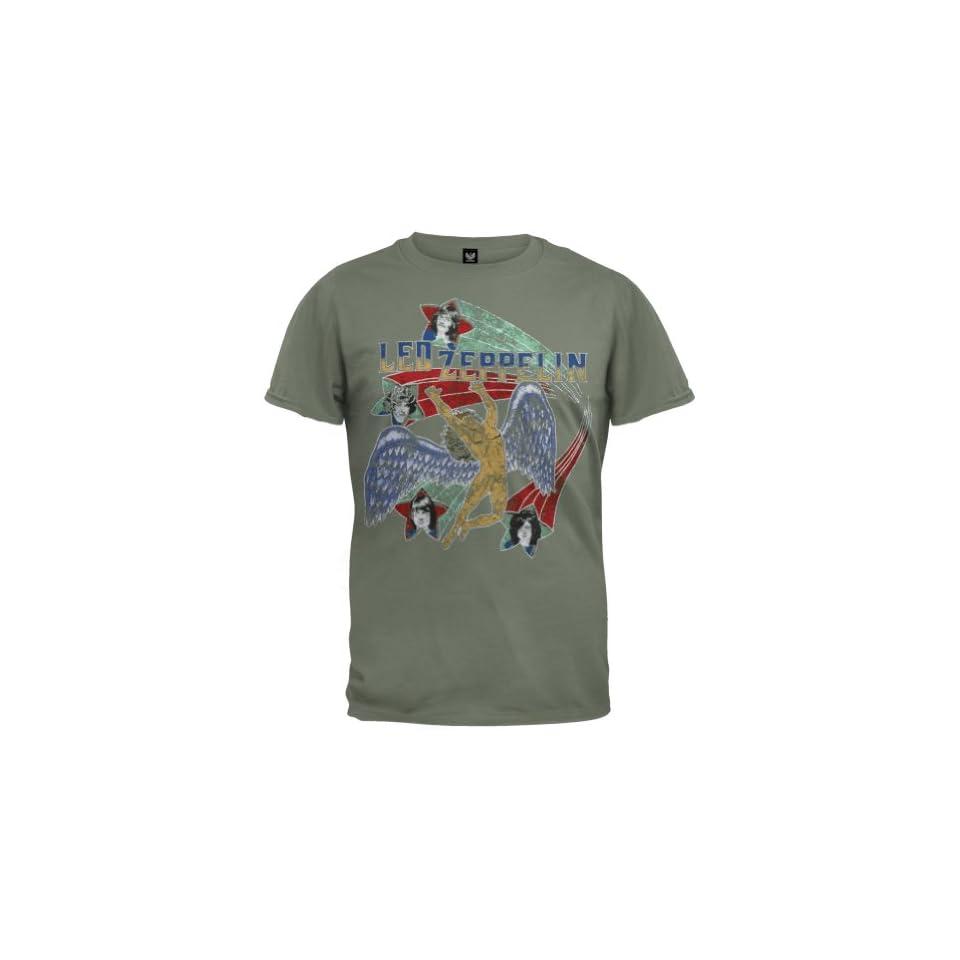 Led Zeppelin   Stars Soft T Shirt   Small