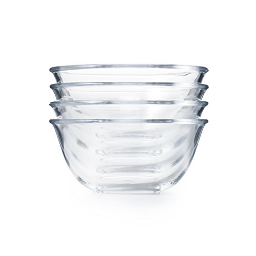 OXO Good Grips 4-Piece Glass Prep Bowl Set