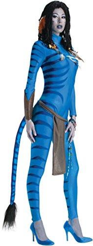 (Secret Wishes Avatar Neytiri Costume, Blue, Medium)