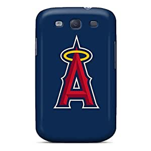 Unique Design Galaxy S3 Durable Tpu Case Cover Baseball Los Angeles Angels 5