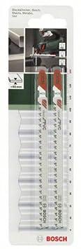 Bosch 2609256C58 Set de 2 lames de scie sauteuse T302H