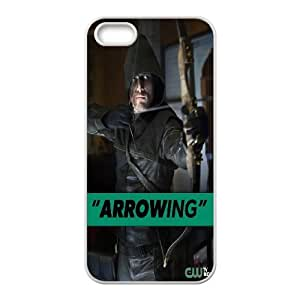 FOR Apple Iphone 5 5S Cases -(DXJ PHONE CASE)-TV Show Green Arrow-PATTERN 14
