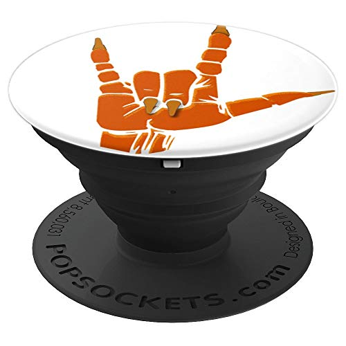 I Love Halloween ASL PopSockets ,American Sign Language - PopSockets Grip and Stand for Phones and Tablets