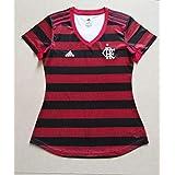 Camisa do Flamengo Feminina Adidas 3D 2019 Modelo Torcedora