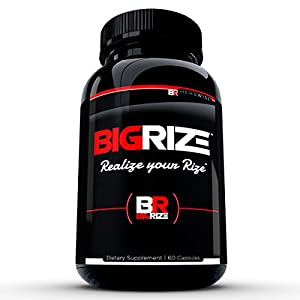 Bigrize Top Rated Male Enhancement Pills, 60 Capsules - Increase Size, Energy, Male Enhancement, Stamina, Vitality, Mood, Male Enlargement, Libido Enhancement Pills - 41vv8buxQIL - Enhancement Pills