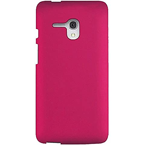 JITTERBUG SMART (5.5inch) [Heavy Duty] [Shock Absorption] [Drop Protection] [Hybrid Armor] Rugged Impact Phone Cover For JITTERBUG SMART (5.5inch) [Hot Pink Hard (Jitterbug Phone Cover)