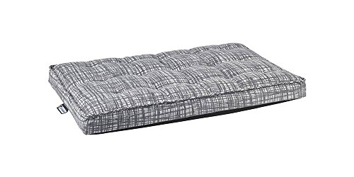 Luxury Crate Mattress in Tribeca (XXL - 48 in. L x 30 in. W x 3 in. H) by Bowsers