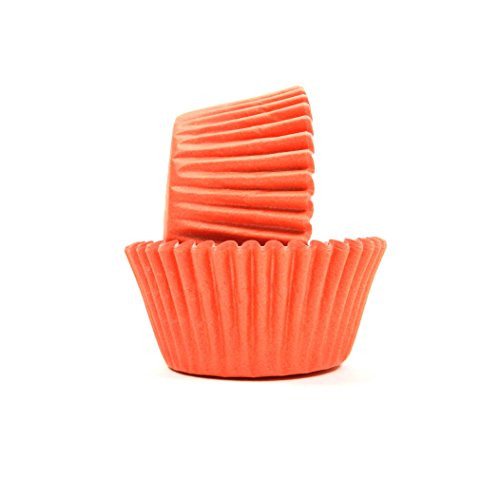 Regency Wraps 40-Count Greaseproof Baking Cups, Standard,Peach