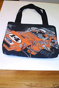 A J Foyt Colin Carter 1967 Indy 500 Woven Tote Bag