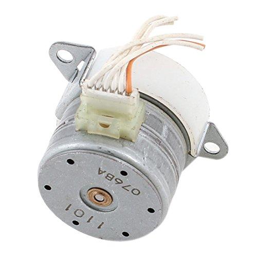 uxcell 4500RPM 3mm Shaft Lathe CNC Reduction Stepper Motor 1:5 Ratio