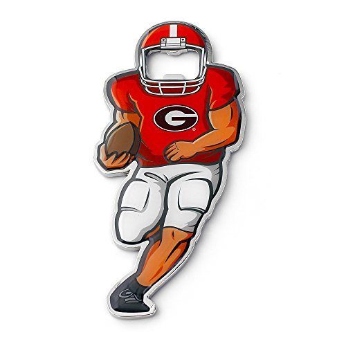NCAA Georgia Bulldogs Player Bottle Opener Magnet