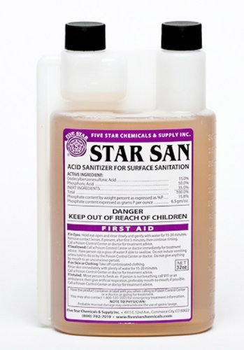 Star San- 32 oz - Five Pbw Cleaner Star