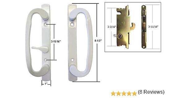 STB – Cerradura para puerta corredera de cristal Patio Juego de ...