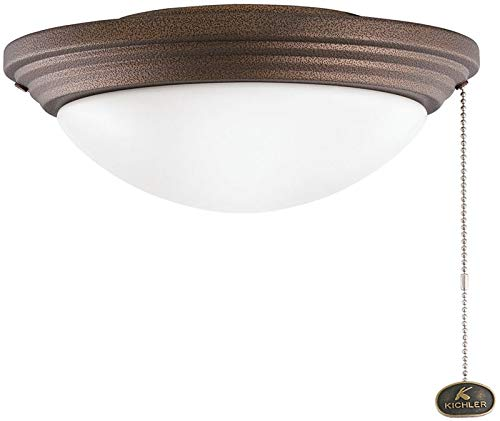 Kichler 380902WCP Accessory Outdoor Wet Light Kit Fixture, Weathered Copper Powder Coat