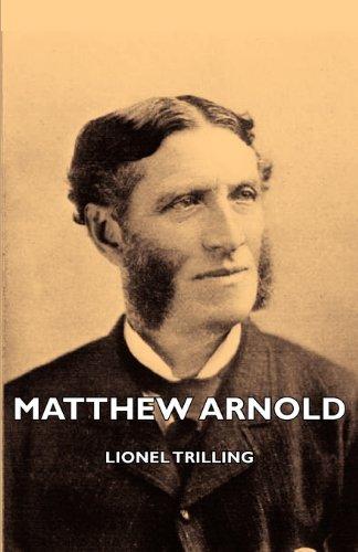 Download Matthew Arnold pdf epub