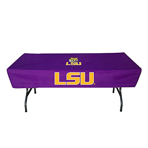 Lsu Tigers Ncaa Sports Table - Rivalry Sports College Team Logo LSU 6 Foot Table Cover