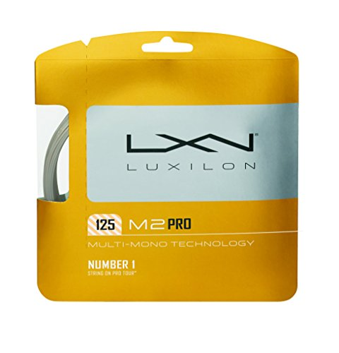 Wilson LUXILON Big Banger M2 Pro 125 Tennis String,, 16L-Gauge