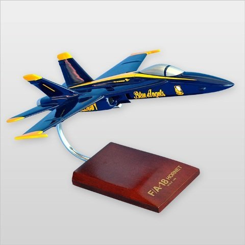 - Mastercraft Collection, LLC Handcrafted Desktop Model Airplane Angels Model Kit, Blue, 14