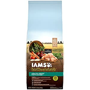 IAMS HEALTHY NATURALS Adult Healthy Weight With Chicken Dry Dog Food 5.5 Pounds
