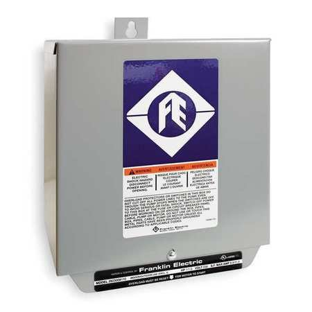 Control Box, 3HP, 230V, 1Phase by FRANKLIN