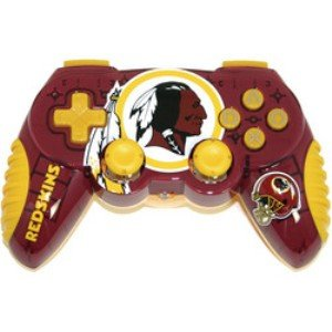Officially Licensed Washington Redskins NFL Wireless PS2 (Mad Catz Ps2 Wireless)