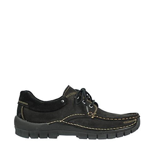 Black Wolky Leather 4701 up 50000 Lace Fly shoes nqTwz4A