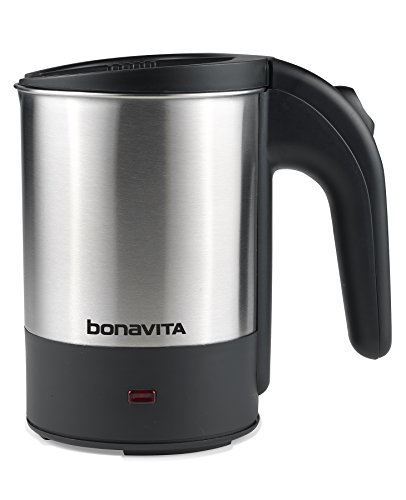 Bonavita - Dual Voltage 0.5L Travel Electric Kettle, 700W heating element