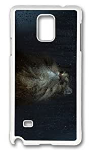 Adorable cat wet window Hard Case Protective Shell Cell Phone Case For iphone 4s Cover - PC White