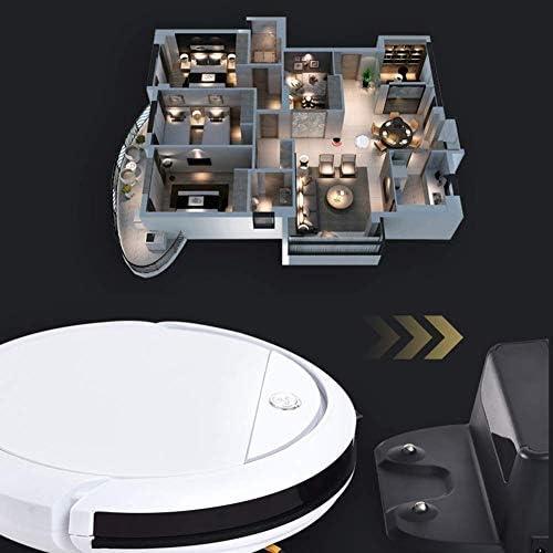 Sweeper Auto et Mop Cleaner 7.5cm Mince Super Silencieux Automatique de Charge Robot de Nettoyage avec Antichute et Robot capteur Collision Aspirateur