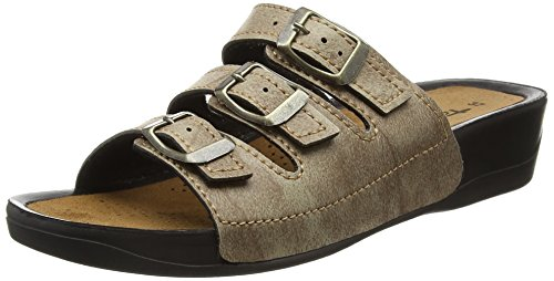 Stone Mules 205 Womens 27500 Gray Tamaris 4qWgAfwnw