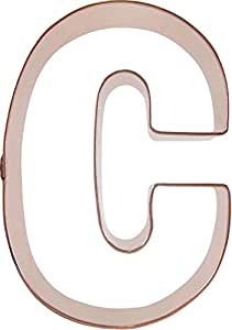 CopperGifts: Letter C cookie cutter